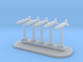 Rockets Sprue - Variant 5 in Smooth Fine Detail Plastic