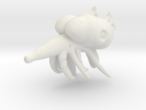 Space Monster - Concept A  in White Natural Versatile Plastic