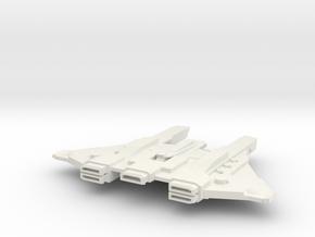 Hive Cruiser v1 in White Natural Versatile Plastic