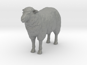 S Scale Sheep in Gray PA12