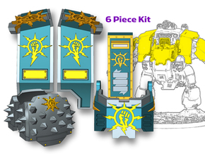 Storm Fists : Full Redem Kit in Smooth Fine Detail Plastic