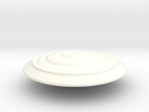 Tron Disc OVERSIZE in White Processed Versatile Plastic