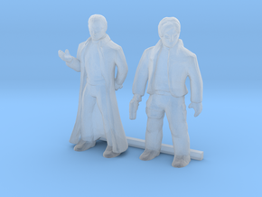 S Scale Male Robbers in Smooth Fine Detail Plastic