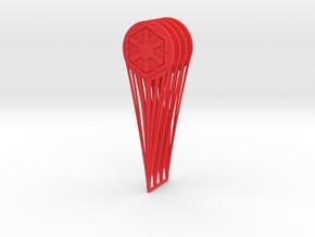 (Legion) 4x CP Hologram Sith Empire in Red Processed Versatile Plastic