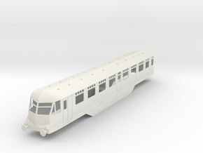 0-43-gwr-railcar-35-37-1a in White Natural Versatile Plastic