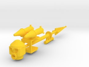 Doomcock Kreon Kit in Yellow Processed Versatile Plastic