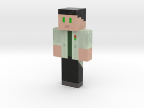Samix0 anime | Minecraft toy in Natural Full Color Sandstone