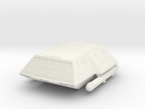 1:72 TOS shuttlecraft hollow in White Natural Versatile Plastic