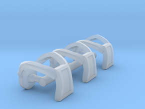 Galaxy Warriors Square Harnesses - Mega Construx in Smooth Fine Detail Plastic