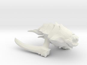 Kraken Beastship - Concept A  in White Natural Versatile Plastic