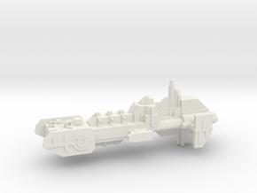 Frigate - Concept A  in White Natural Versatile Plastic