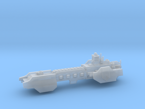 Carrier - Concept A  in Smooth Fine Detail Plastic