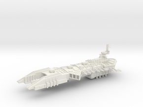 Despoiler Class Capital - With upgraded under weap in White Natural Versatile Plastic