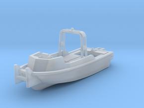 MKII Bridge Erection Boat in Smooth Fine Detail Plastic: 1:144