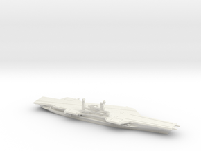 USS Midway (CV-41) (Final Layout), 1/2400 in White Natural Versatile Plastic