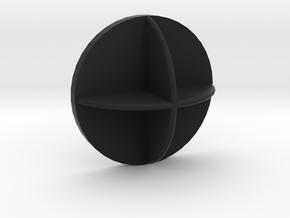 Volkswagen UP; Phone adapter in Black Natural Versatile Plastic