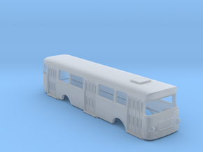 Roman 112 U Bus Body Scale 1:120 in Smooth Fine Detail Plastic