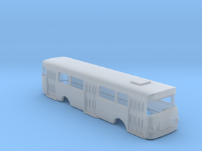 Roman 112 U Bus Body Scale 1:220 in Smooth Fine Detail Plastic