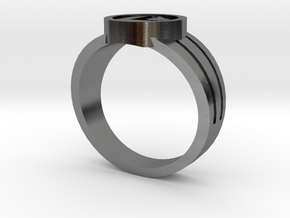 Legion Flight Ring in Polished Silver: 9.5 / 60.25