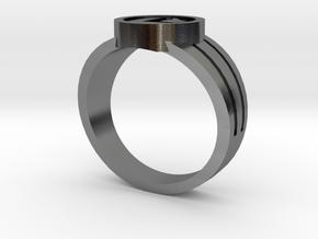 Legion Flight Ring in Polished Silver: 9.5 / 60.25