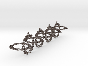 chain 4 in Polished Bronzed-Silver Steel