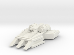 ! - Ram Ship - Concept A  in White Natural Versatile Plastic