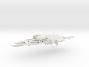 Alternative Kruiser - Concept C  in White Natural Versatile Plastic