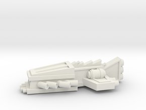 ! - Escort - Concept G  in White Natural Versatile Plastic