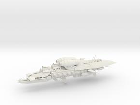 Alternative Kruiser - Concept E  in White Natural Versatile Plastic