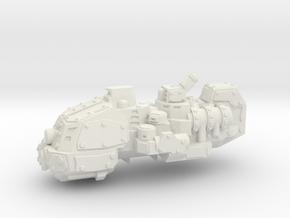 ! - Heavy Kruiser - Concept A  in White Natural Versatile Plastic