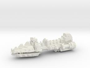 ! - Escort - Concept D  in White Natural Versatile Plastic