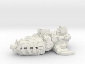 ! - Escort - Concept C  in White Natural Versatile Plastic