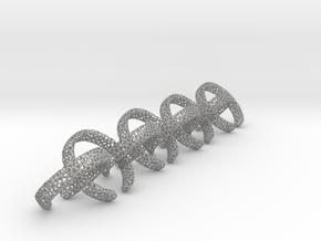 8 voronoi rings in Aluminum