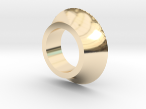 Crank Spacer in 14K Yellow Gold