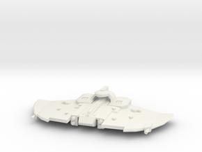 Larshirvra Protector Gunship - Concept B  in White Natural Versatile Plastic