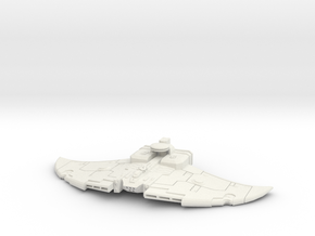 Larshirvra Protector Gunship  in White Natural Versatile Plastic