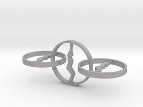 yoga jewelry - earring  in Aluminum
