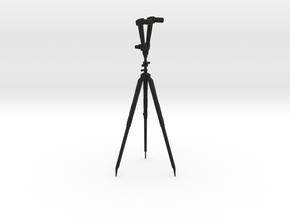 ZF 14 (long) in Black Natural Versatile Plastic