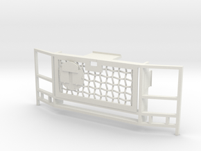 WPL 1/16 Truck Grille C in White Natural Versatile Plastic