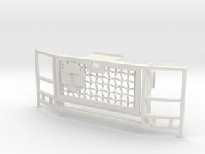 WPL 1/16 Truck Grille C in White Natural Versatile Plastic