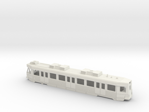 Hong Kong Light Rail  N size (first) in White Natural Versatile Plastic