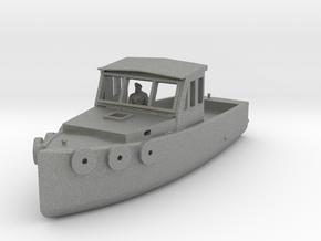 HO Scale Lobster Boat in Gray PA12