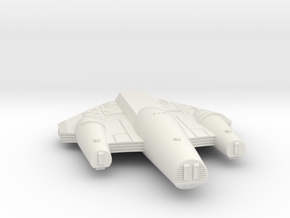 3125 Scale ISC Battleship (BB) SRZ in White Natural Versatile Plastic