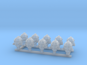 Norse Helms for super warriors in Smoothest Fine Detail Plastic