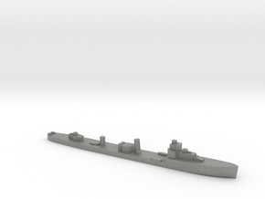 HMS Velox LR Escort 1:3000 WW2 in Gray PA12