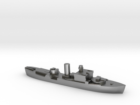 HMS Begonia corvette 1:1800 WW2 in Natural Silver