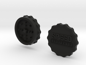 Speed Suspects Herbal Grinder in Black Natural Versatile Plastic