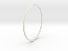 Ring Inner in White Natural Versatile Plastic