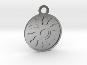 The Sun in Natural Silver
