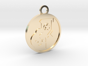 Page of Pentacles in 14K Yellow Gold